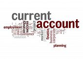 Current Account Word Cloud