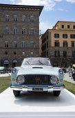 FLORENCE, ITALY - JUNE 15, 2014: Lancia Florida 4 Porte