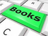 Education Books Indicates World Wide Web And Learn