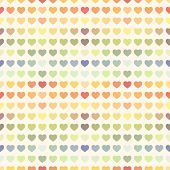 Seamless abstract colorful rainbow Valentine's background