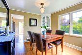 Elegant Dining Table Set  In Bright Room