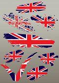 set flags