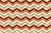 Brown Zig Zag Seamless Pattern