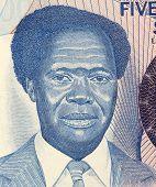 UGANDA - ZIRKA 1983: Milton Obote