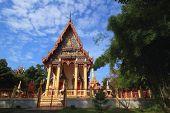 Temple at Wat Don Phutsa