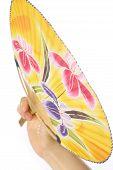 Japanese traditional paper fan UCHIWA