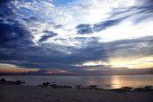 Sunrise over Lake Malawi, Chintheche, Malawi, Africa