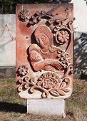 interesting monument in Stepanakert