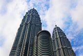 KUALA-LUMPUR, MALAYSIA - APRIL 10: Twin towers on April 10, 2011 in Kuala-Lumpur, Malaysia.