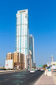 The Domain Tower In Manama City, Bahrain. Middle East
