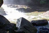 Wachirathan Waterfall, Doi Inthanon National Park In Chiang Mai, Thailand