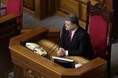 President Of Ukraine Petro Poroshenko 27 November 2014