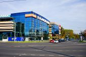 Vilnius City Zverynas District And Panorama Shop Center