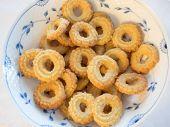 Traditional Danish Homemade Vanilla Christmas Cookies