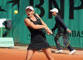 Simona Halep (rou) At Roland Garros 2010