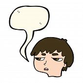 pic of annoyance  - cartoon annoyed boy with speech bubble - JPG