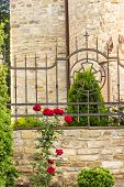 picture of trinity  - Element of the church fence of the church of the Holy Trinity 13 - JPG