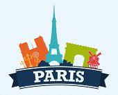 pic of moulin rouge  - Paris design - JPG
