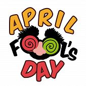 image of fool  - April fools day design - JPG