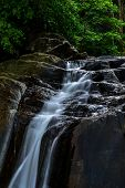 image of waterfalls  - This waterfall is rich with waterfalls - JPG