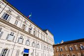 image of turin  - Facade and entrance of the Royal Palace  - JPG