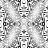stock photo of twist  - Design monochrome whirl movement background - JPG