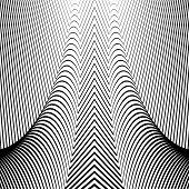 picture of distort  - Design convex textured background - JPG