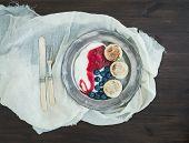 image of curd  - Breakfast set - JPG