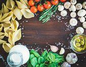 image of jug  - Pasta ingredients - JPG