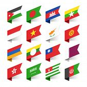pic of flags world  - Flags of the World - JPG