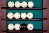 ������, ������: Set of billiard balls