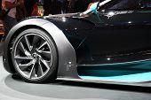 Citroen Survolt Art Car At Paris Motor Show
