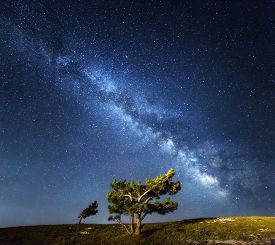 image of crimea  - Milky Way - JPG