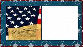 pic of preamble  - Patriotic Background with White copy space - JPG