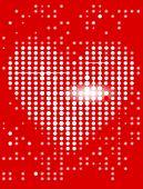 Fundo de tela de coração