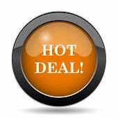 Hot Deal Icon poster