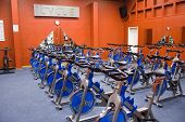 picture of exercise bike  - bike studio - JPG