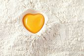 stock photo of yolk  - love to bake it - JPG