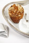 pic of bakeshop  - carrot and oats healthy muffin with cake tins and spoons - JPG