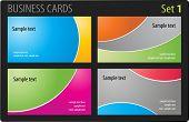 Modelo de cartões de visita