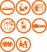 Brand New Home Rooms Icons
