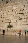 A Man at the Western Wall, Israel