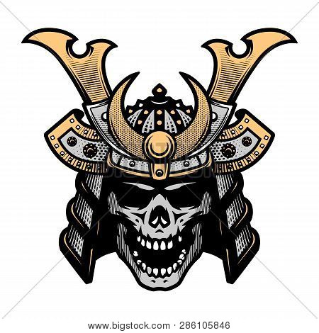 Samurai Skull Art Warrior Helmet
