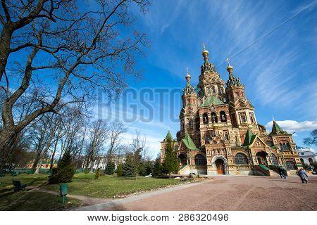 Saint Petersburg Russia April 25