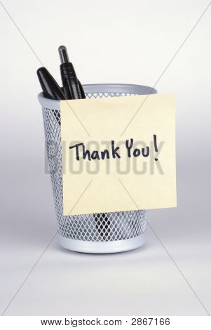 Thank You! Note
