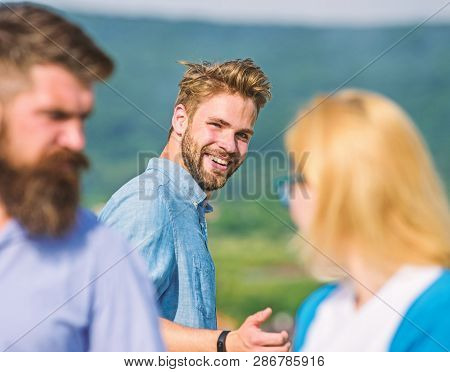 Poster: Man With Beard Jealous Aggressive