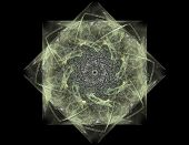 Abstract Design Made Of Sacred Symbols Signs Geometry And Designs On The Subject Of Astrology Alchem poster