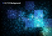 mosaic vector background with space for Your text