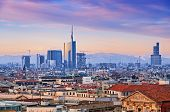 pic of milan  - View of Milan - JPG