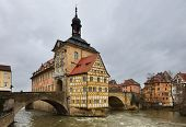 stock photo of regnitz  - The Old Town Hall  - JPG